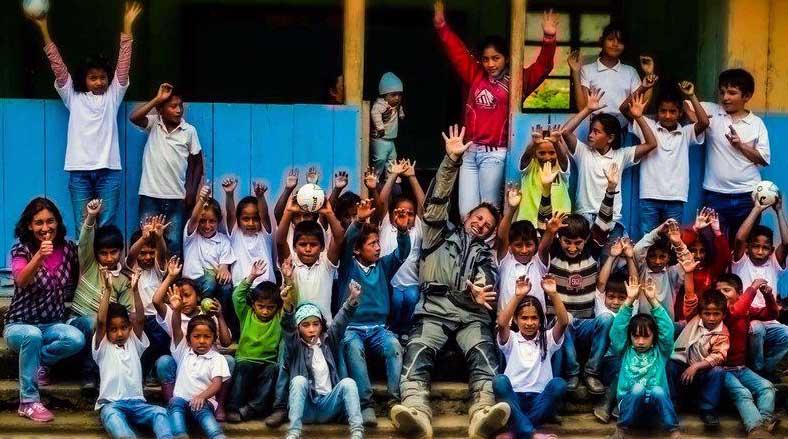 Ecuador Freedom Bike Rentals and children
