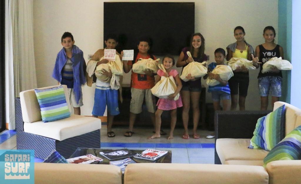 gift bag Safari Surf School