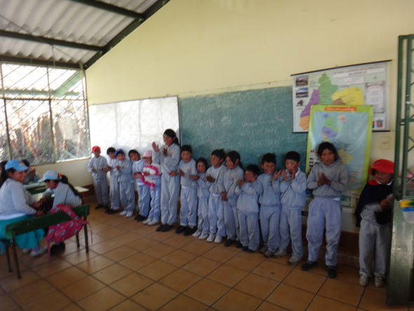 Boy Scout's Eagle Project Benefits Schools in Ecuador - Pack for a